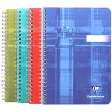 Clairefontaine Spiralbuch DIN A5 Kariert 90 Blatt 8542C