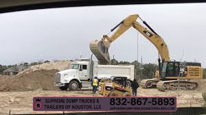 100 Trucking Companies In Houston Tx Supreme Dump Trucks Trailers Of FullService Dirt