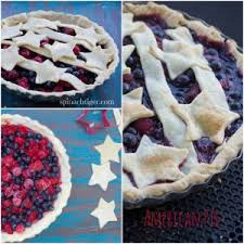American Pie with Blueberries Raspberries Stars and Stripes Spinach Tiger