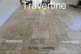 travertine and limestone floor tile cleaning service cheshire