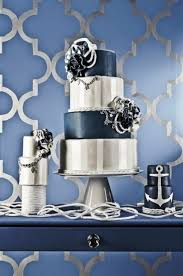 Amazing Blue And Silver Wedding Centerpieces 29 Gorgeous Navy With A Sparkle Ideas