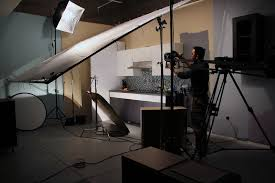 Zephyr Under Cabinet Range Hood by Behind The Scenes Shot From A Video Shoot Of The Pyramid Under