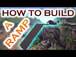 how to build mega ramps in ark survival evolved building