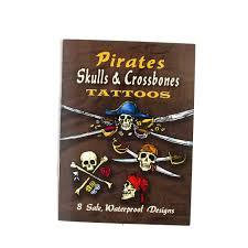 Dover Little Tattoo Book Skull And Crossbones