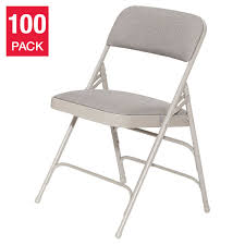 National Public Seating Upholstered Folding Chairs In Grey, 100-Pack Equal Portable Easy Folding Recling Zero Gravity Chair National Public Seating Details About White Leather Padded Desk Seat Back Rest Office Computer Garden Beige Vinyl Stackable Merax High Ergonomic Gaming Pu Leather Adjustable Height Rotating Lift Advantage Grey Dove 1in Hamc309avgygg Maple Wood 5pc Xl Series Card Table And Ultra Thick Set Black 2418usb A Shape Heavyduty Premium 2 Fabric By 3200 Hercules With Inch