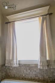 Design Bathroom Window Treatments by Bathroom Window Curtains Options Lined Unlined Curtains The