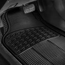 FH Group Car Floor Mats For All Weather Rubber 4pc Set Tactical Fit ... Universal Fit 3piece Full Set Ridged Heavy Duty Rubber Floor Mat Armor All Black 19 In X 29 Car 4piece John Deere Vinyl 31 18 Mat0326r01 Bestfh Truck Tan Seat Covers With Combo Alterations Mats Red Metallic Design On Vehicle Beautiful For Weather Toughpro Infiniti G37 Whosale Custom For Subaru Forester Legacy 19752005 Bmw 3series Husky Liners Heavyduty