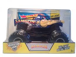 100 Samson Monster Truck Hot Wheels Jam DieCast Vehicle 124 Scale By Hot