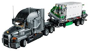 LEGO Technic Mack Anthem 42078 Semi Truck Building Kit And ... Custom Alinum Flatbed Trailers For Tamiya Trucks Realistic Peterbilt 359 Rc 14 Super Sound Trailermp4 Big Riggs Pinterest 40ft Container Semitrailer For Tractor Truck Nyk A Modern Semitrailer Truck On Light Background Stock Photo Rc Semi Flatbed Trailers Best 2012 Series To Watch Heavy Duty Trucks Model Heavy Haulage Semi Truck Cheap Trailer Find Deals Line At Alibacom 27mhz Transforming Semitruck Robot Toy W Dance Modes Music