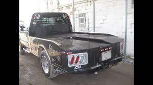 100 Used Flatbeds For Pickup Trucks CM ER Truck Flatbed Like Western Hauler STOCK VIDEO Fits SRW Dually RondoCMER