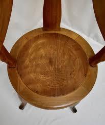 Vintage Oak Swivel Seat Barber's Chair : The Great British Pine Mine ...