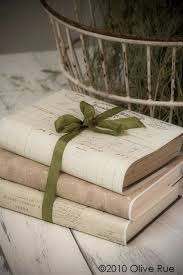 Crumpledenvelope Vintage Inspired Book By OliveRue