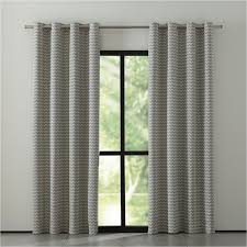 Grey And White Chevron Curtains 96 by Curtain Panels And Window Coverings Crate And Barrel