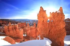 Sunset Point Bryce Canyon Utah Stock Image