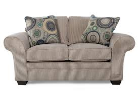 mathis brothers sofa and loveseats traditional textured loveseat in brown mathis brothers furniture
