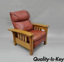 Stickley Furniture Leather Recliner by Stickley Side Chair Ebay