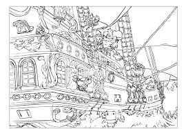 Bad Pirate Colouring Page