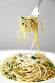 cuisine pasta parmesan garlic spaghetti recipe popsugar food