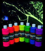 Black Light Party Goods and Supplies