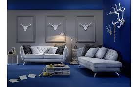 sofa gerome hellblau mit 3 kissen 71116200110 2 möbel zum