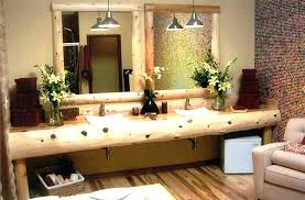 Awesome Country Bathroom Vanities And Rustic French For