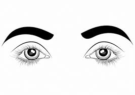 Click To See Printable Version Of Eyes Coloring Page