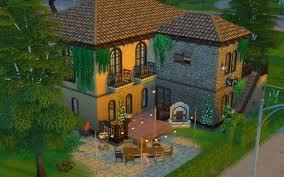 100 Modern Italian Villa I Built A Modern No CC Thesims