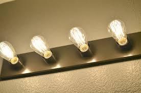 bathroom vanity light bulbs home design in edison bulb best 25