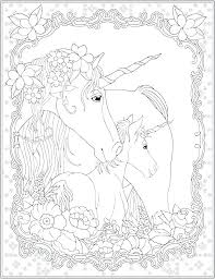 Unicorn Pegasus Colouring Pages Coloring With Wings Rainbow Pictures Of Unicorns To Color Baby