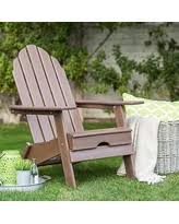 Living Accents Folding Adirondack Chair by Now After Christmas Sales On Teak Adirondack Chairs