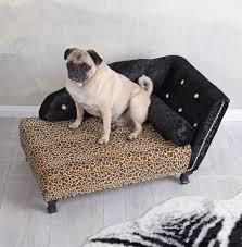 royales hundesofa leopard hundebett schlafplatz hunde chaiselongue