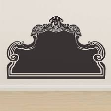 Headboard Designs South Africa by Vintage Bed Headboard Wall Sticker By Oakdene Designs