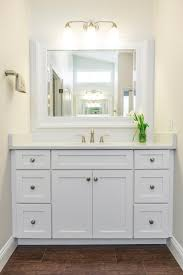 Narrow White Bathroom Floor Cabinet by Back U003e Gallery For U003e White Shaker Bathroom Cabinets White Shaker