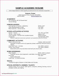 Example Resume Objective For No Work Experience 11 Valuable Examples Highschool Students With