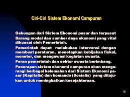 the best pokok bahasan 2 sistem ekonomi indonesia ppt