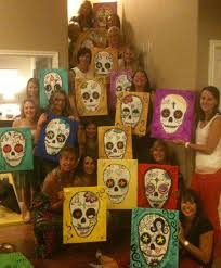 A Painting Or Crafting Class Is Great Idea For Your Neighborhood Group Activity