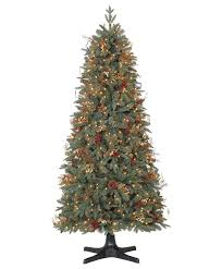 Fully Decorated Premium Balsam Hill Natural Christmas Tree Design Ideas With And