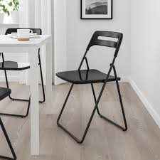 IKEA - NISSE Folding Chair Black | Products In 2019 ... Amazoncom Anay Outdoor Adjustable Reclinersimple Home Toddler Fold Up Chair Bed With Folding Plus Childrens Seater Toddlers Wonderful Garden Bedroom Office Classroom Seat Leadership Staff Student Yescom Oversize Black Comfort Padded Moon Saucer Mainstays Plush Multiple Colors Us 3942 25 Offcreative Lazy Sofa Living Room Sofas Washable Cover Z30in From Ihambing Ang Pinakabagong 6 In 1 Commode Wheelchair Bedside Camping Hiking Recliner Chairs Deck 360 Degree Rotation Living Room Bedroom Four Colors Optional Xl Outdoor Folding Chairs Ingeniogroupco Details About Metal Desk Study Ding Conference Meeting Hall