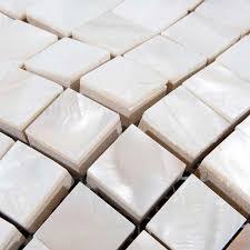 shell tiles kitchen backsplash ideas of pearl shower tile