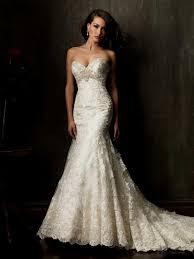 vintage lace mermaid wedding dress naf dresses