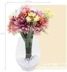 lumiphire kunstblumen mit vase blumenarrangements