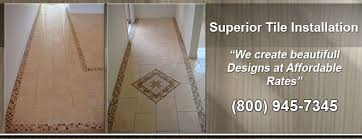 ceramic tile installation recommended tile installers