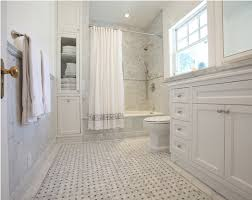 carrara bianco honed big basketweave bardiglio gray dot mosaic