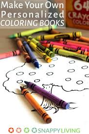 You Can Make Your Own Personalized Coloring Books For The Kids In Life I