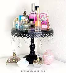 Perfume Display Makeover