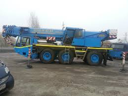 100 Truck Mounted Cranes Demag AC 155 Mounted Crane Used RO AJOC2441AQ