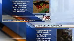 100 Food Trucks Tulsa Trucks To Help Feed Kids In Need During Spring Break