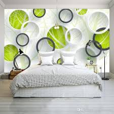 Custom Photo Wall Mural Abstract Tree 3d Circles Living Room Sofa Tv Background Wallspaper Modern Art Painting Wallpapers Free For Pc