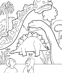 Dinosaur Coloring Pages 6