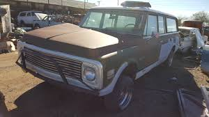 100 1971 Chevrolet Truck Suburban 71CH6545C Desert Valley Auto Parts